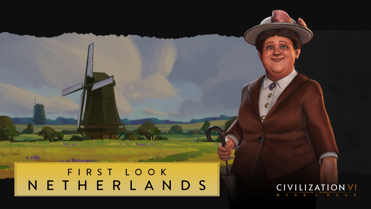 Your first look at the Netherlands in Civilization VI: Rise and Fall